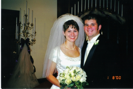 2000 - Matt and I promised to God and our family to be together - to love and work and grow together.