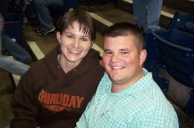 2004 - Together at a Third Day concert!