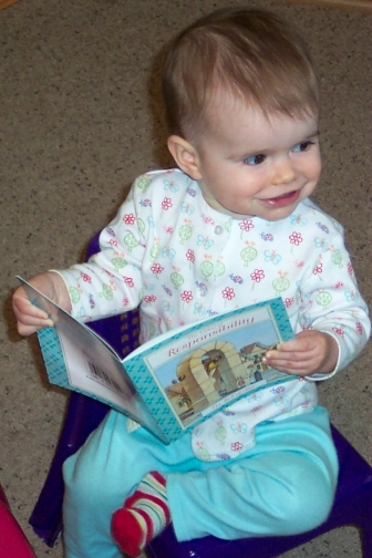Abbye reading