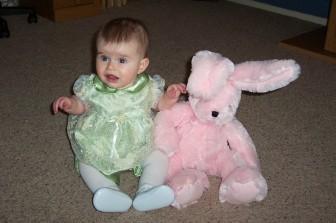 Easter - Abbye & bunny