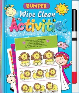 Bumper Wipe Clean Activities book cover
