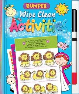 Bumper Wipe Clean Activities book cover