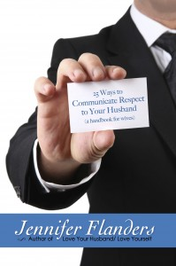 25 Ways to Communicate Respect to Your Husband book cover