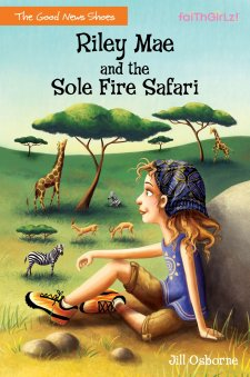 Riley Mae and the Sole Fire Safari book cover