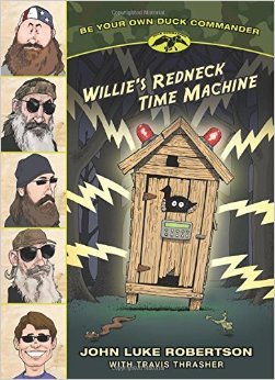 Willie's Redneck Time Machine book cover