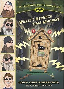 Willie's Redneck Time Machine book cover