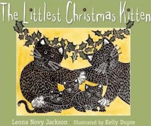 The Littlest Christmas Kitten book cover